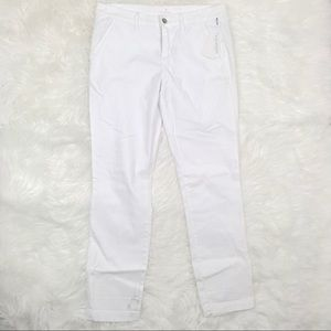 Caslon 10 Boyfriend Chino Pants High Rise Skinny